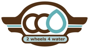 2 wheels 4 water logo